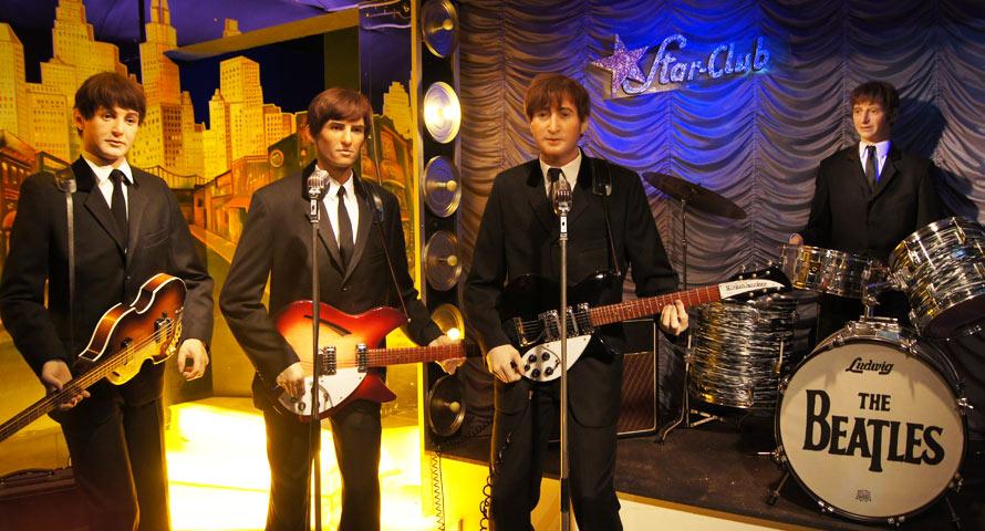 Die legendären Beatles im Panoptikum
