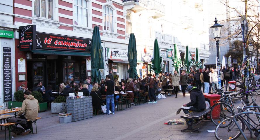 Stadtteil Sternschanze - vom Schmuddelort zum Szeneviertel