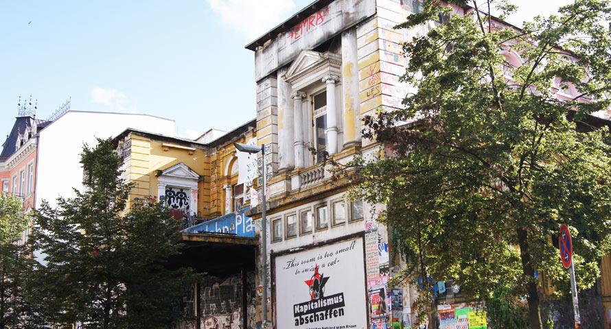 Der Hamburger Stadtteil Sternschanze
