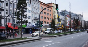 Straßen auf St.Pauli