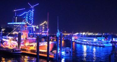Hamburg Cruise Days 2014: Der Hafen leuchtet blau