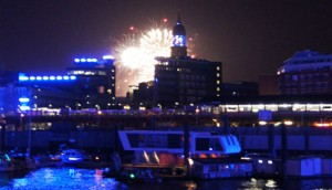 Feuerwerk bei den Cruisedays