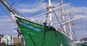 Das Museumsschiff Rickmer-Rickmers