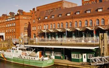 Das deutsche Zollmuseum im Hamburger Hafen