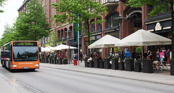 Verkaufsoffener Sonntag in der Hamburger Innenstadt