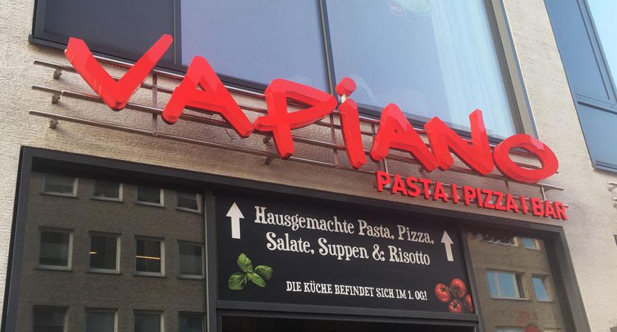 Vapiano Restaurant in Hamburg - Pasta, Pizza und Bar