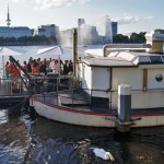 Brunch an der Hamburger Alster