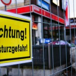 Esso Tankstelle auf St. Pauli in Einsturzgefahr