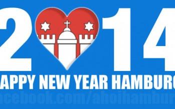 Guten Rutsch und ein glückliches neues Jahr Hamburg