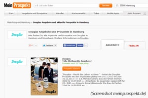 "Screenshot von ""meinprospekt.de"""