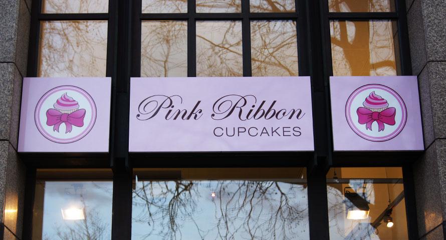 Pink Ribbon - hausgemachte Cupcakes und Brownies
