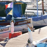 Kleine Boote im Yachthafen Marseille