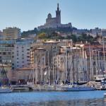 Blick auf die Notre-Dame de la Garde