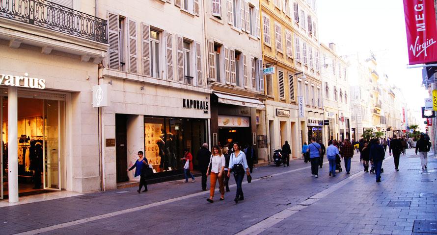 Innenstadt von Marseille