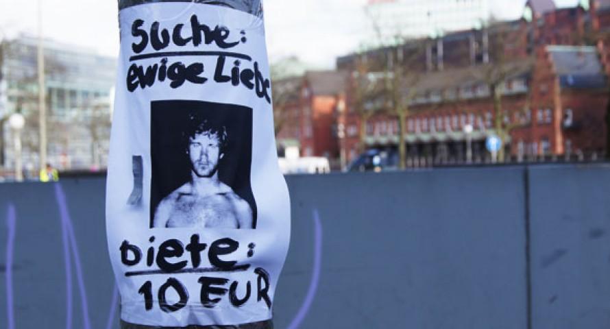 """Kurioses Gesuch: """"Suche ewige Liebe – biete 10 Euro"""""""