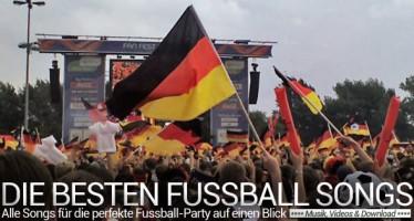 Die 20 besten Fussball-Songs für eine glorreiche WM-Party