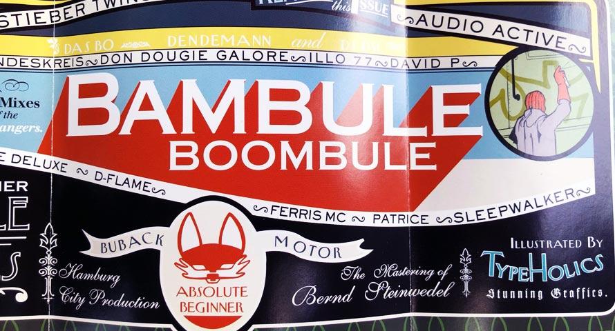 Booklet Foto aus dem Boombule Album