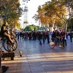 Boulevard La Rambla in Barcelona