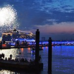 Cruise Days Hamburg: Highlight war die große Schiffsparade
