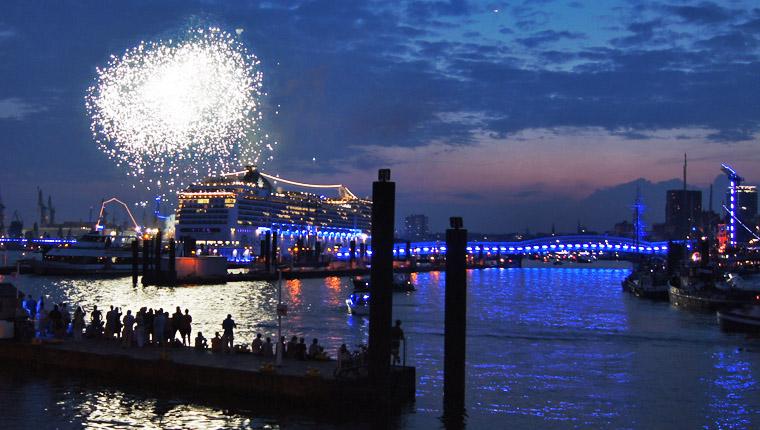Cruise Days Hamburg: Highlight war die große Schiffsparade