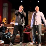 Nico Suave & Stefan Raab performen Hamburger Rap-Medley (Foto YouTube)