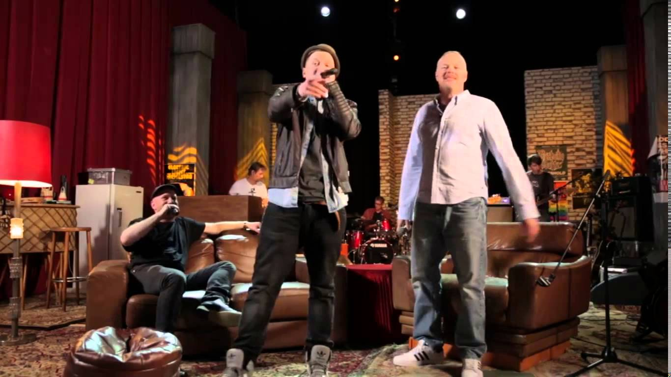 Nico Suave & Stefan Raab performen Hamburger Rap-Medley (Foto YouTube)