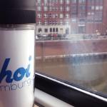 HEMLIG Kaffeebecher mit AhoiHamburg Logo