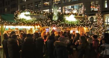 Weihnachtsmärkte die nach Weihnachten geöffnet haben