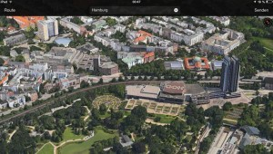 Hansestadt Hamburg in Apple Maps