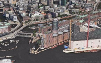 Flyover: Apple Maps zeigt nun auch Hamburg in 3D