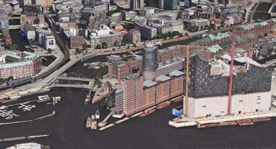 Flyover: Apple Maps zeigt nun auch Hamburg in 3D