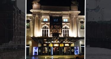Je Suis Charlie: Hamburg zeigt seine Solidarität mit Frankreich