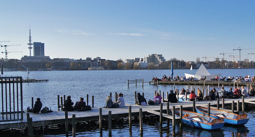 So feierte der Frühling seine Premiere in Hamburg