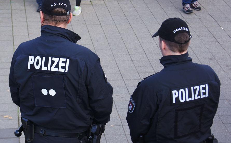 Hamburger Polizei im Einsatz