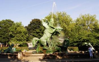 Stuhlmannbrunnen in Hamburg-Altona