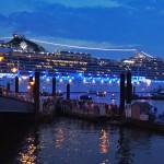 Kreuzfahrtschiffe bei den Hamburg Cruise Days