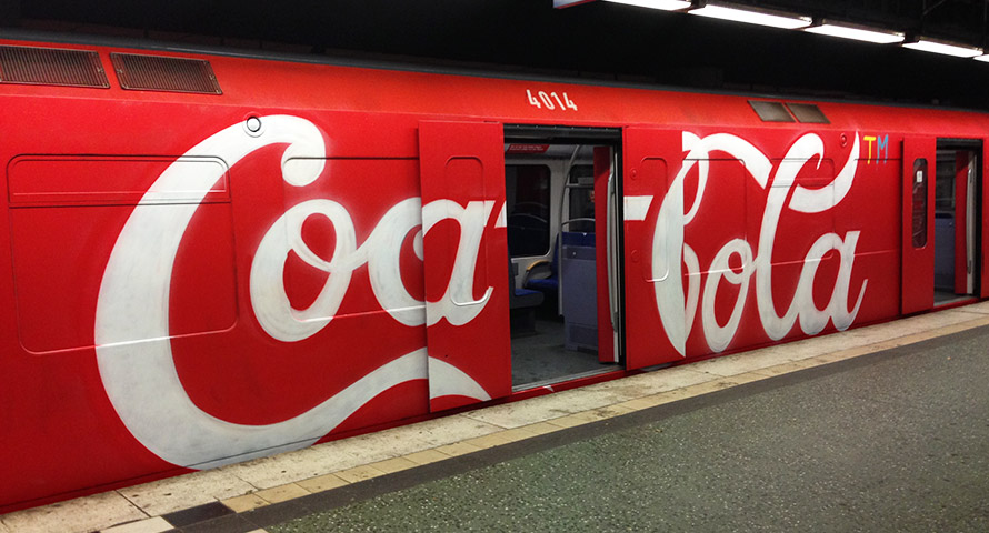 MOSES & TAPS Coca-Cola Wholecar