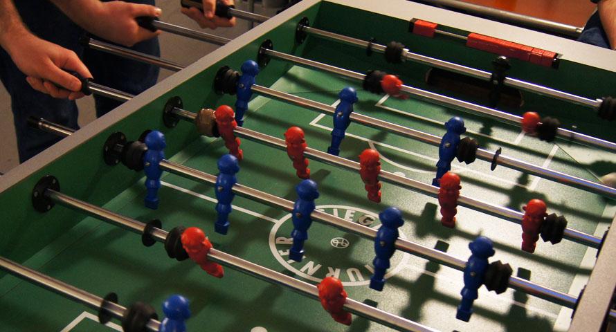 Gepflegt Kickern in Hamburg