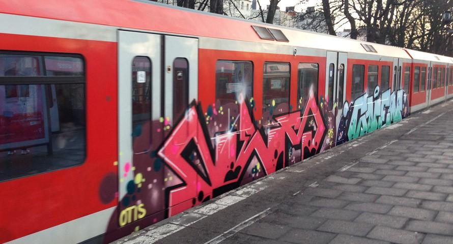Graffiti Hamburg: Kein Stadtteil ist sicher