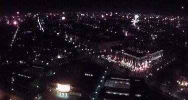 Silvester im Zeitraffer – ein Blick über ganz Hamburg
