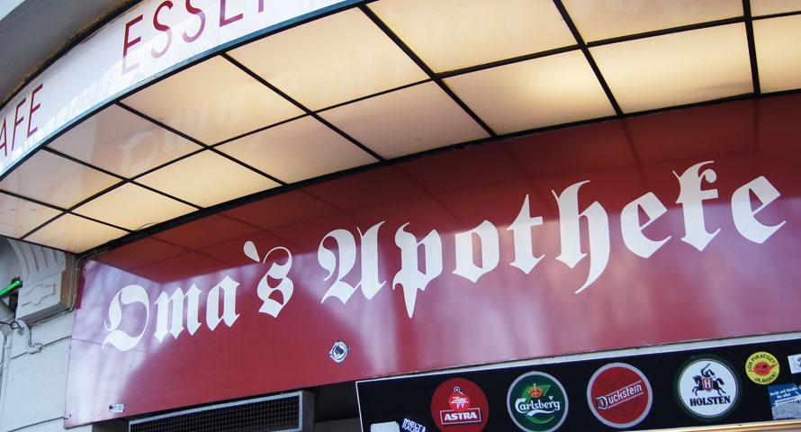 Oma's Apotheke Bar Sternschanze