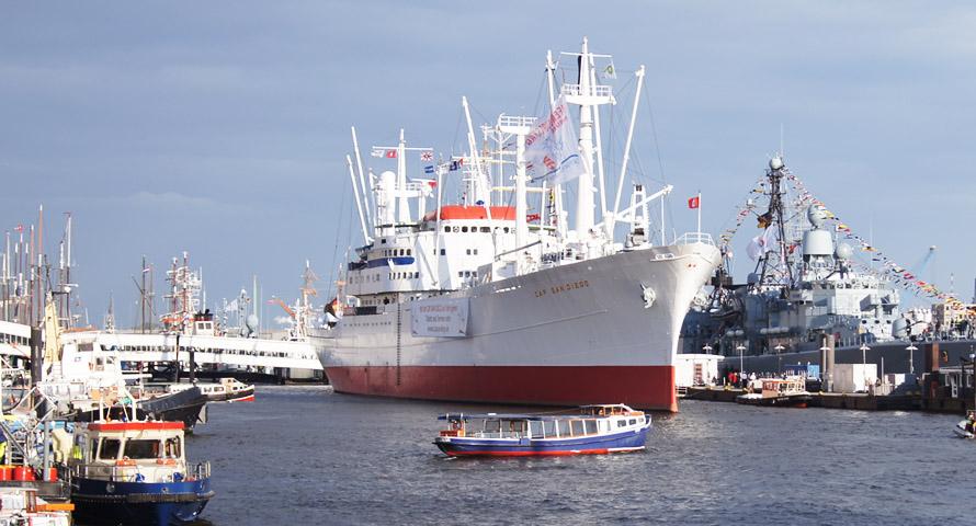 Vom Stückgutfrachter zum Museumsschiff