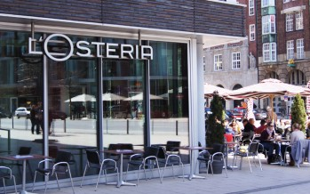 L'Osteria Pizza Restaurant in Hamburg
