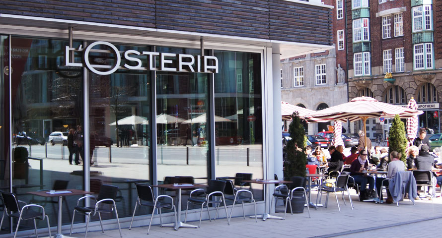 Losteria Restaurant in Hamburg