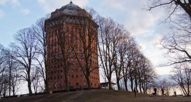 Schanzenturm im Sternschanzenpark Hamburg