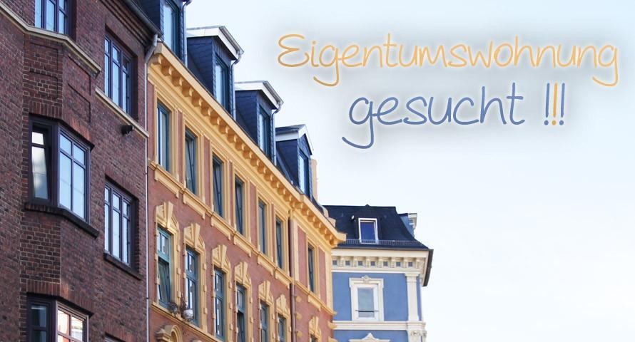 Eigentumswohnung in Hamburg Zentrum gesucht!