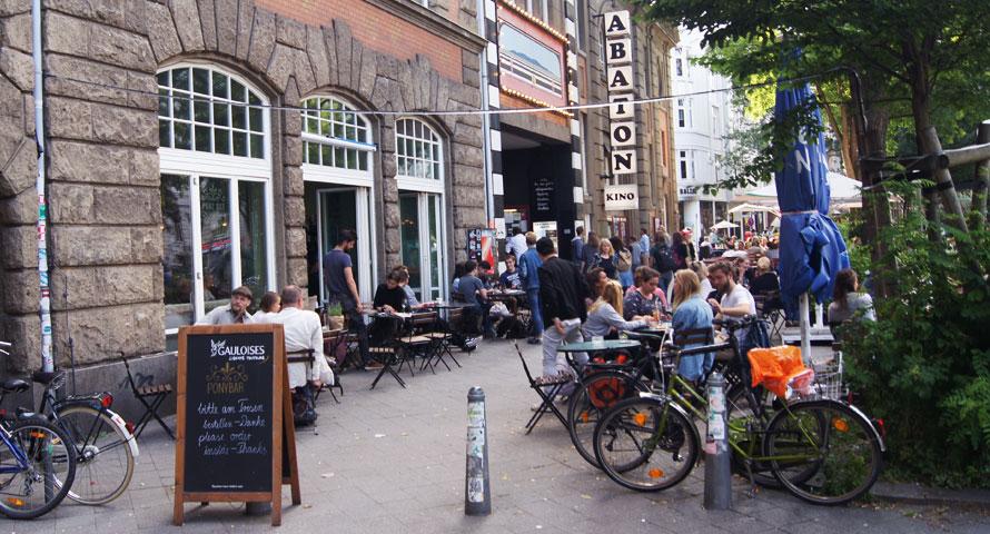 Abaton Kino im UNI-Viertel Hamburg