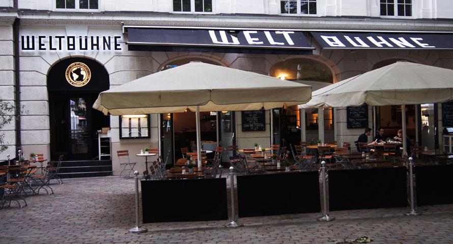 Weltbühne - Restaurant und Kaffeehaus nahe Thalia Theater