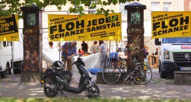 Antik- und Flohmarkt Flohschanze im Schanzenviertel Hamburg