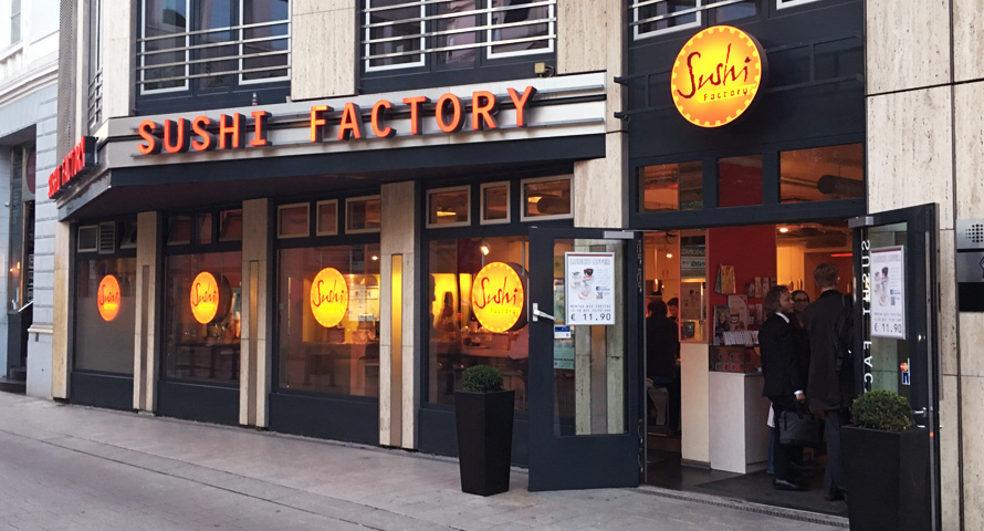 Sushi Factory Restaurant in Hamburg